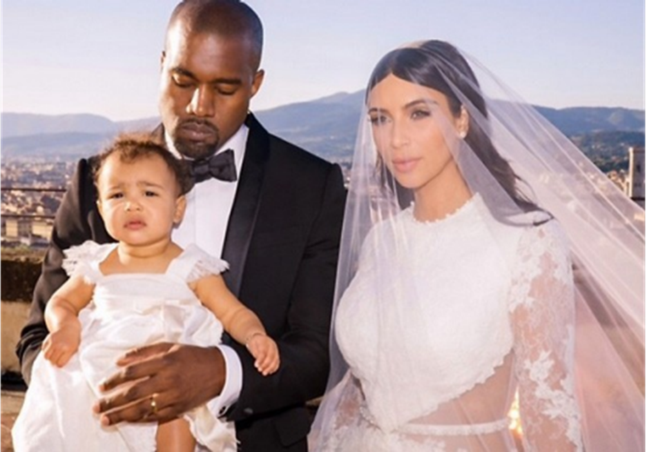 Kanye West Also Wore A Givenchy Tuxedo That Was Custom Made While Their Daughter North Had Mini Dress